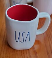 Rae Dunn by Magenta LL Ceramic USA Coffee Mug