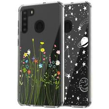 For Samsung Galaxy A21 Phone Case, Anti-Scratch Shockproof Clear Case