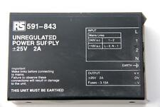 RS 591-843 UNREGULATED POWER SUPPLY #S246