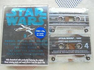 2 Cassettes Audio Book Star Wars Vol.3 5 Stories From The Movie