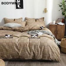Cartoon four-piece bedding quilt cover student dormitory sheets three-piece set