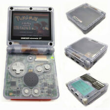 Game Boy Advance SP Console AGS 001 Front light LCD GBA SP System- Clear Glacier