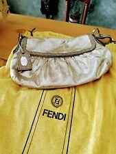 FENDI METALLIC Gold Chef Bag,  W/Du