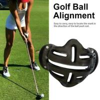 Golf Ball Line Marker Template Alignment Liner Marks Shell Tool Putting 201 T8C5