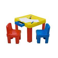 Tavolino gioco per bambini PVC altezza Cm. 50 lato Cm. 64 (sedie non incluse)