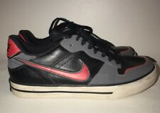 Nike Jordans Low Boy Red Leather Vintage Basketball Girls Boys Shoes Sz 6 Y #j