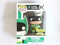 FUNKO POP VINYL | DC | GREEN BATMAN 01 | ENTERTAINMENT EARTH with FREE PROTECTOR