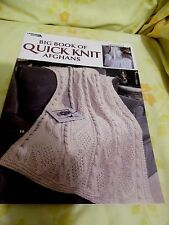 "Knitting Patterns-""BigBookofQuickK nitAfghans, ByLeisure Arts,24 Designs,Excd"