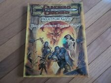 Wizards of the Coast D&D d20 The Adventure Begins Here unpunched