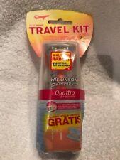 Wilkinson Sword Quattro for Woman Travel Kit Rasierapparat mit 3 Klingen + Etui