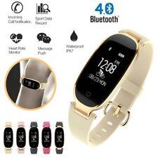 Bluetooth Reloj Inteligente Impermeable S3 Moda Mujeres Damas Monitor de frecuencia cardíaca Smar