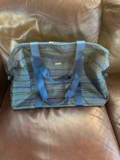 Baggallini Blue Green Large Travel Tote Womens Shoulder Bag Carryall Zip