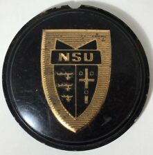 CLASSIC NSU PRINZ 1000 L STEERING WHEEL CENTRE BADGE EMBLEM HORN - RARE! 1960s