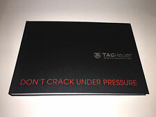 New - Catálogo Catalogue Book TAG HEUER - Don't Crack Under Pressure - Español