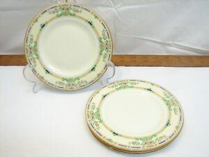 "4 Royal Doulton The Ormonde 6"" Bread Dessert Plates Fine China Saucer"