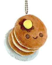 100% SOFT PANCAKES PLUSH CHARM WITH REMOVABLE CHAIN