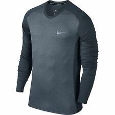 Men's Nike Dry Miler Running Top Black
