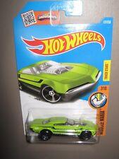 Hot wheels Muscle speeder lime black stripe 127/250 mint boxed 2015 HW off road