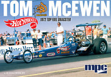 "NEW! MPC855 Tom ""Mongoose"" McEwen '72 Rear Engine Hot Wheels NHRA Dragster 1/25"
