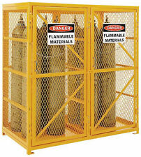 CYLINDER STORAGE CABINET for Propane & Welding Gas & Compressed Air Tanks 65x60