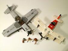 LEGO INDIANA JONES 'FIGHTER PLANE ATTACK' 3 FIGURES 7198 100% COMPLETE GUARANTEE