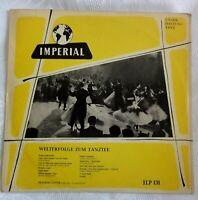 """9979) 10"""" LP - Welterfolge zum Tanztee - Adalbert Lutter - Imperial"""