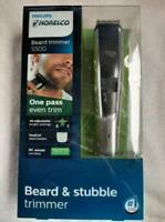 Philips Norelco Beard and Stubble Trimmer 5500 BT5511/49 NEW -OPEN BOX