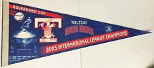 Vintage Toledo Mud Hens 2005 Governors Cup International Champs Pennant