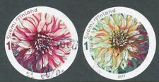 Finland 2011 Used Full Set of Stamps (2) - Dahlia Flowers