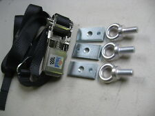 FORD ESCORT MK1, MK2,SPARE WHEEL TIE DOWN STRAP WITH FIXING EYES, HISTORIC,RALLY