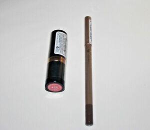 Revlon Super Lustrous Lipstick #410 + Jordana Eyeliner Bella Brown Lot Of 2 New