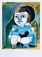 Paloma en Bleu, Limited Edition Lithograph, Pablo Picasso