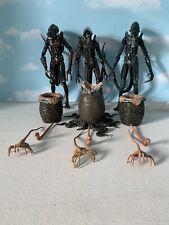 Neca Lot Alien Aliens Movies Xenomorph Big Chap Warriors Dog Figures Set