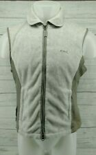 Discolored Gray Kyra. K Trainer Womens Equestrian Full Zip Vest Size Large