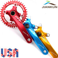 104/64BCD 170mm Crankset MTB Road Bike 32-38T Chainring Narrow Wide Aluminum CNC