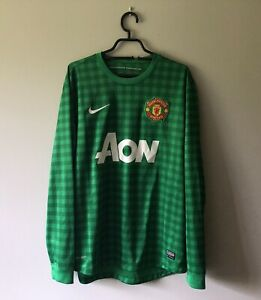 Manchester United 2012-2013 Home Goalkeeper Shirt Large
