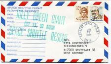 1982 Space Shuttle Flight Flown Via Aircraft Jolly Green Giant Kennedy NASA USA