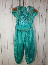 X38 Girl's Simmer & Shine Green  Costume Small