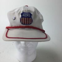 UNION PACIFIC RAILROAD YOUTH JUVENILE STRIPED CONDUCTOR HAT SNAPBACK
