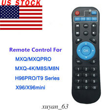 US Remote Control Replacement for H96 MXQ MX Pro 4K H96 T9 Android Smart TV Box