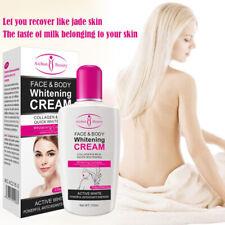 Beauty Face + Body Whitening Cream for Dark Skin Bleaching Lotion 120ML