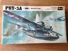 Vintage Revell Black Cat PBY-5A Model Aeroplane Kit 1:72 Unbuilt
