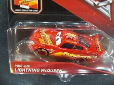 DISNEY PIXAR CARS 3 WITH CARD RUST-EZE LIGHTNING MCQUEEN 2017 SAVE 5% WORLDWIDE