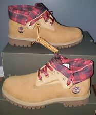 NEW TIMBERLAND HERITAGE ROLL TOP BOOTS US 9