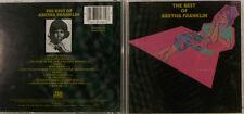 THE BEST OF ARETHA FRANKLIN CD ALBUM (e1897)