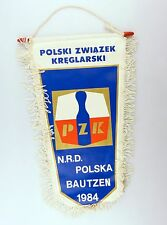 #e6271 Bunting Polski zwiazek kreglarski Cones Bautzen 1984 n.r.d. Contest