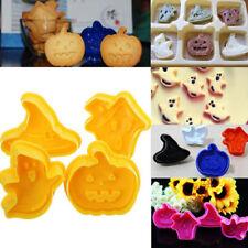 Press Mould Baking Fondant Plunger Halloween Pumpkin Biscuit Mold Cookie Cutter