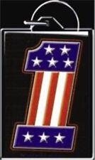 Harley Davidson Superglide Patriotic Keychain American Flag #1