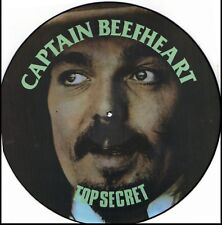 CAPTAIN BEEFHEART TOP SECRET RARE IMPORT Vinyl Record Picture Disc
