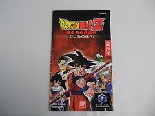 Dragon Ball Z Budokai (FAH) Nintendo Gamecube NGC Manual only